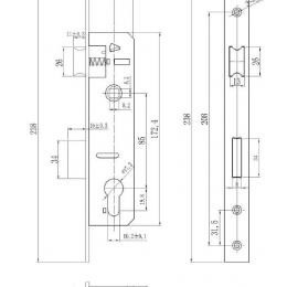 ML8525-SS Drawing