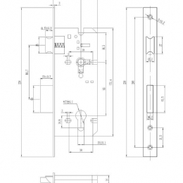 ML8545-SS Drawing