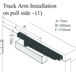 Track Arm Install-Pull Side (1)