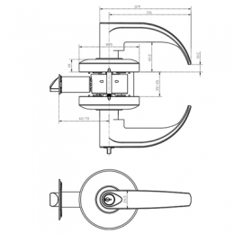 CL8007SC-PWD Drawing
